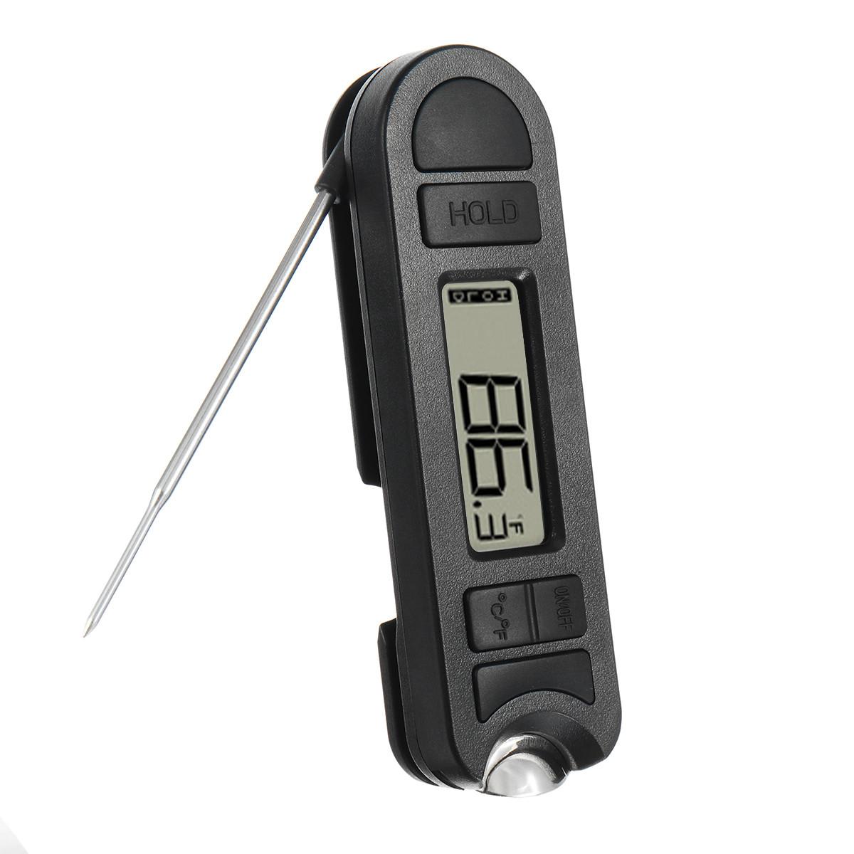 Цифровой складной барбекю Термометр с открывателем бутылок Кухня Кухня Масло Измеритель температуры Набор 1TopShop
