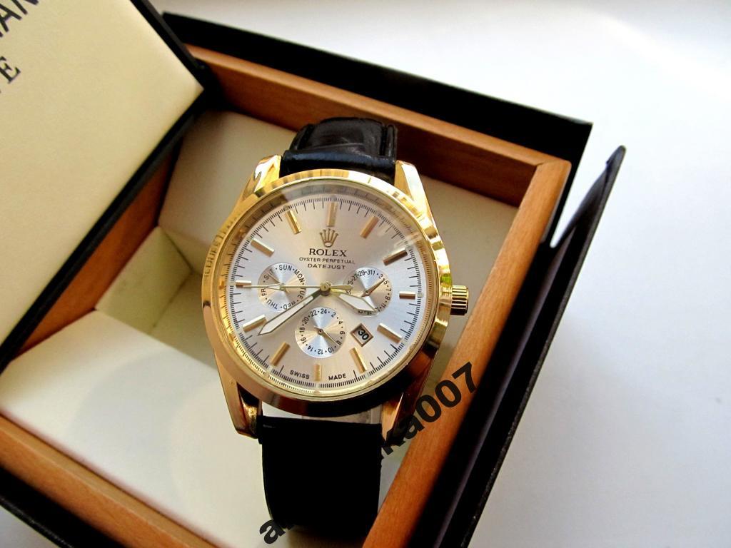 Мужские унивесальные кварцевые часы Rolex под PATEK PHILIPPE купить недорого 289e702a389db