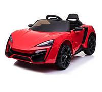 Детский электромобиль Lukan HyperSport SX 3777, красный, Дитячий електромобіль