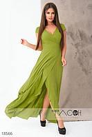 Элегантное платье на запах