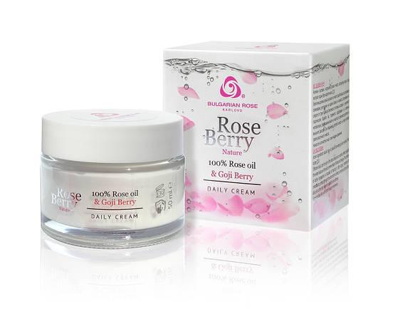 Дневной крем для лица Болгарская Роза Rose Berry Nature 50 мл, фото 2