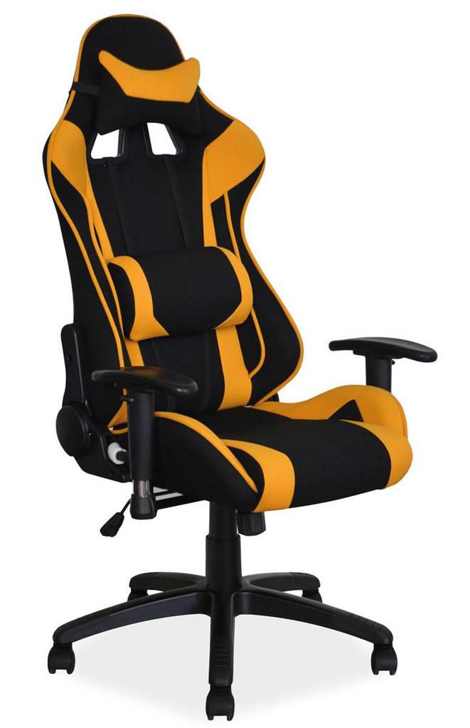 Компьютерное кресло VIPER Signal черный/желтый
