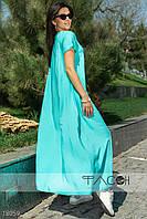 Асимметричное длинное платье вечернее