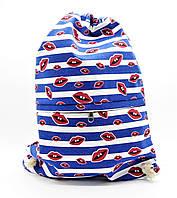 Женский пляжный текстильный рюкзак UUС-000116, фото 1