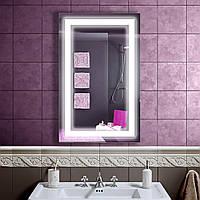 Зеркало LED со светодиодной подсветкой DV 751 500х800 мм.