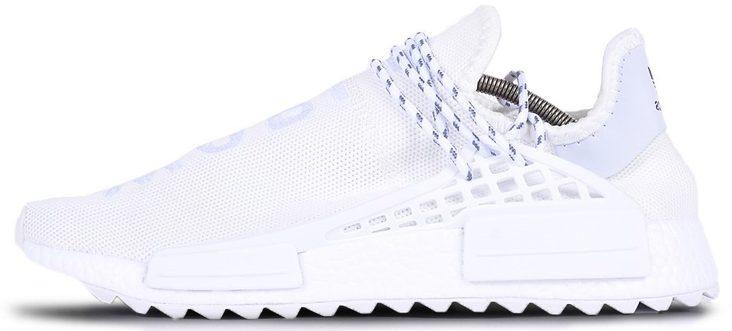 "Мужскиекроссовки adidas x Pharrell Williams Human Race NMD ""White"" (Адидас Фарель) белые"