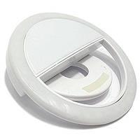Светодиодное Кольцо для Фото Protech Selfie Ring Light SG-11 (вспышка для селфи) White