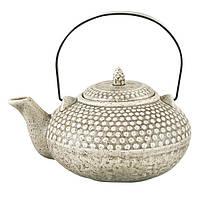 Заварочный чайник Fissman с ситечком 750 мл Серый (TP-9349.750), фото 1