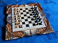 Эксклюзивные шахматы ручной работы.