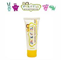 Натуральная зубная паста Jack N' Jill (со вкусом банана) (50g)