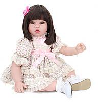 NPK 20 дюймов 51cm Reborn Baby Новорожденный Soft Силиконовый Кукла Handmade Lifelike Baby Girl Куклаs