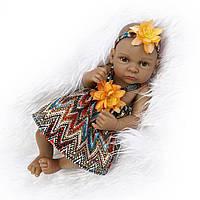 NPK 11 дюймов 28cm Reborn Baby Soft Силиконовый Кукла Handmade Lifelike Baby Girl Куклаs Play House Toys
