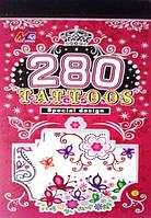 Детские татуировки для девочек блокнотиком, фото 1