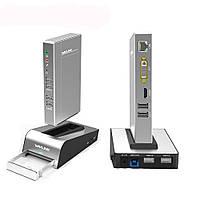 Wavlink USB3.0 Универсальная алюминиевая соединительная док-станция HDD SSD Коробка Base Dual Video Монитор HDMI