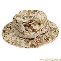 Панама военная ковбойска шляпа (камуфляж цифра ACU Desert)