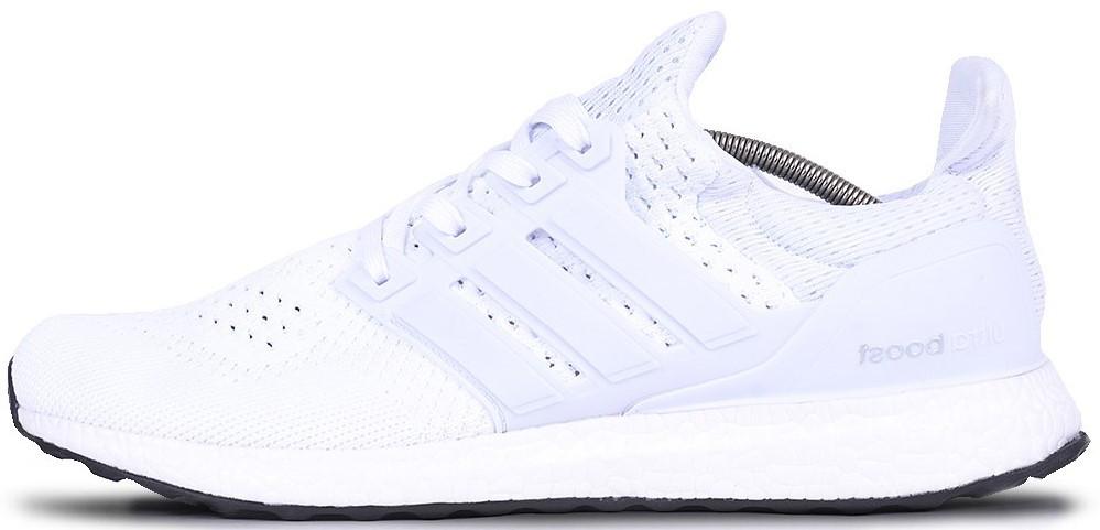 "Мужскиекроссовки adidas Ultra Boost 1.0 ""White"" (Адидас Ультра Буст) белые"