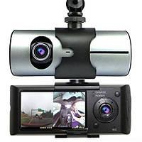 Видеорегистратор R300 с 2 камерами и GPS