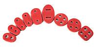Стопор для шнура красный