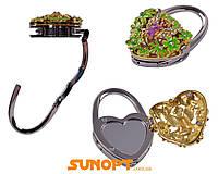 Вешалка для женской сумочки с зеркалом №R1 Код:627504488