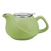 Заварочный чайник Fissman с ситечком 750 мл Светло зеленый (TP-9376.750)