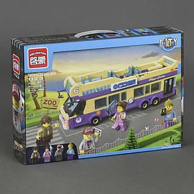 """BRICK 1123 """"Автобус"""" (24) 455 дет, в коробке"""