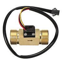 DN20 G3/4 Медь Поток воды Датчик Импульсный выход 1.75Mpa 2 ~ 45L / min Расходомер