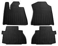 Резиновые коврики для Toyota Sequoia II 2008- (4 места) (STINGRAY)