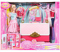 Кукла с нарядами Гардероб-сумочка 99046, фото 1