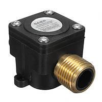 1-30L / min Расход воды Датчик Измеритель DN15 G1/2 DC 5V Расходомер счетчика жидкости