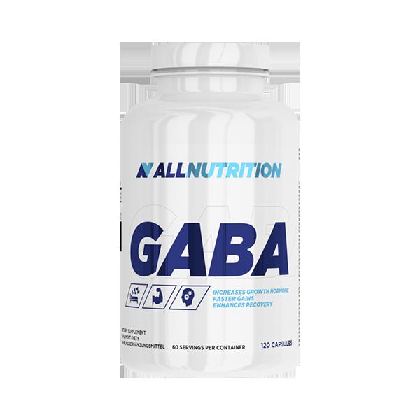 Габа, стимуляция выработки гармона роста AllNutrition Gaba 120 caps