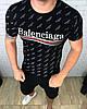 Футболка мужская Balanciaga D3383 черная
