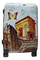 Дорожный чемодан пластик (размерный ряд) Франция Ч52, фото 1