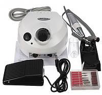Аппарат для маникюра ZS-601 (60 Вт, 35000 об.) белый