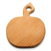 Кухонная доска яблочко маленькое (Ф130-150 мм)