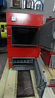 Котел на дрова (длиной до 60см) Evroterm 18 кВт, котёл работающий на твердом топливе для отопления до 150 м/кв