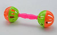Брязкальце в ручку T306-11 в пакеті 15, 5*4, 5*4,5 см