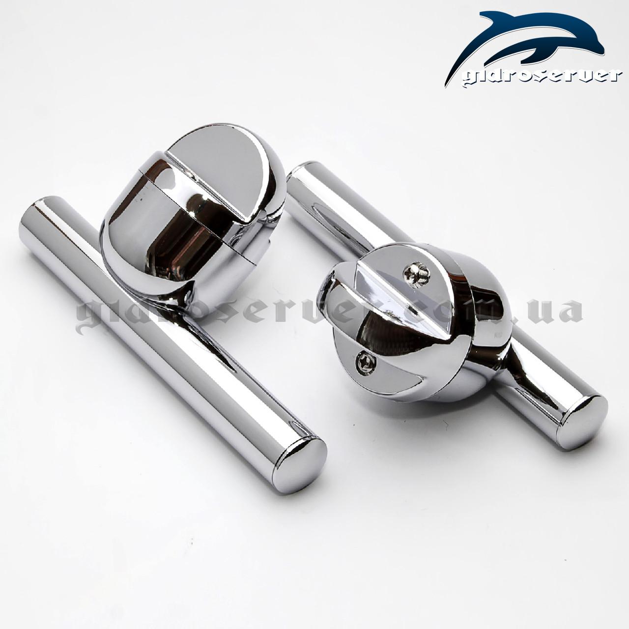 Ручка для стеклянных дверей душевых кабин, гидробоксов H-10.