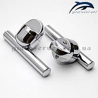 Ручка для стеклянных дверей душевых кабин, гидробоксов H-10., фото 1