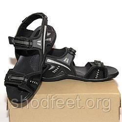 Мужские сандалии OCCO Black Grey