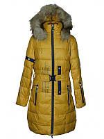 Подростковое зимнее пальто для девочки 12 лет  Anernuo
