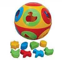 Сортер шар Умный малыш Колобок 2926, фото 1