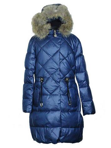 Подростковое зимнее пальто для девочки от 6 до 12 лет  Anernuo, фото 2