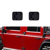 2PCS Черный Пластик Авто Дверной шарнир для 1/10 RC Crawler Traxxas TRX-4