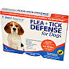 Средство от блох, Flea + Tick Defense, 21st Century Health Care, 3 апликатора