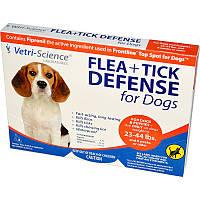 Средство от блох, Flea + Tick Defense, 21st Century Health Care, 3 апликатора
