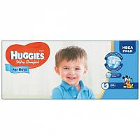Huggies Ultra Comfort для мальчиков 5 ( 12-22 ) 56 шт!
