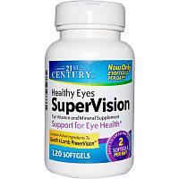 Витамины для глаз, 21st Century Health Care, 120 гелевых капсул