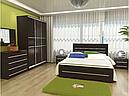 Ліжко з ДСП/МДФ в спальню Соломія 160*200 Неман, фото 6