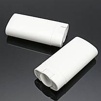 10шт Белые пустые контейнеры для дезодорантов Многоразовые овальные бальзам для губ Twist Up Трубка с крышками для крышки 1TopShop, фото 2