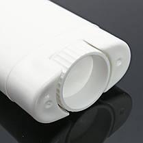 10шт Белые пустые контейнеры для дезодорантов Многоразовые овальные бальзам для губ Twist Up Трубка с крышками для крышки 1TopShop, фото 3